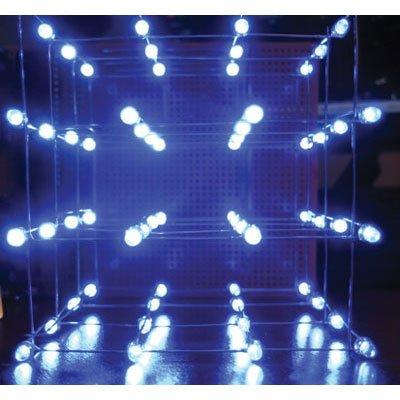 Kit,led Cube,4x4,blue,
