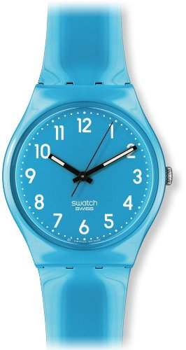 Swatch Women's GS138 Swatch Baby Blue Dial Watch