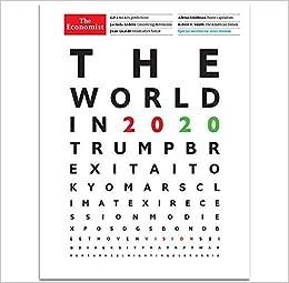 Amazon.com: The Economist Magazine (2019) The World in 2020: The Economist:  Books