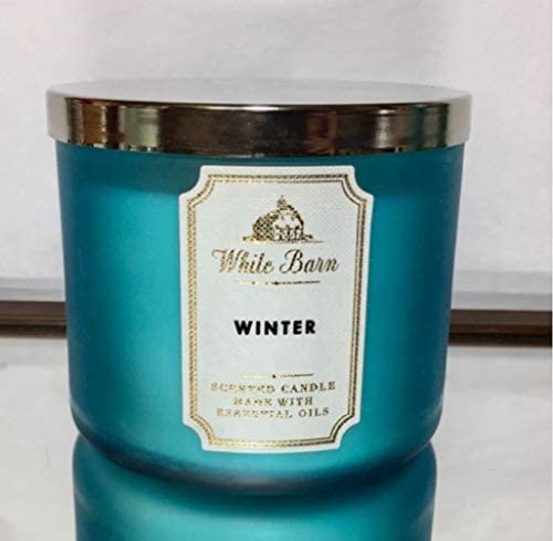 White Barn through Bath & Body Works 3-Wick Scented Candle in Winter