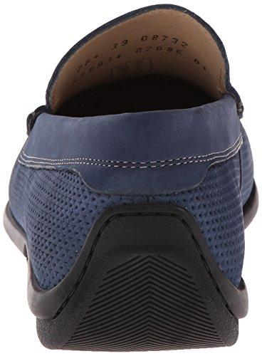 ECCO Mens Classic Moc 2.0 Perf Slip-On Loafer Denim Blue JuB1KI