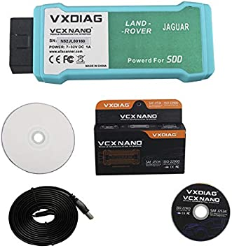 VXDIAG VCX Nano Diagnose and Programming Tool Compatible for Toyota with SAE J2534 WIFI Version