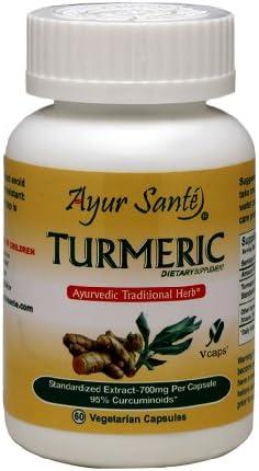 Turmeric-Extract 700mg Per Cap 95 Curcuminoides-665 mg* 60 Veg Caps