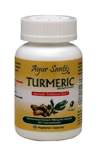 Turmeric Extract 700mg Per Curcuminoides 665 Caps product image