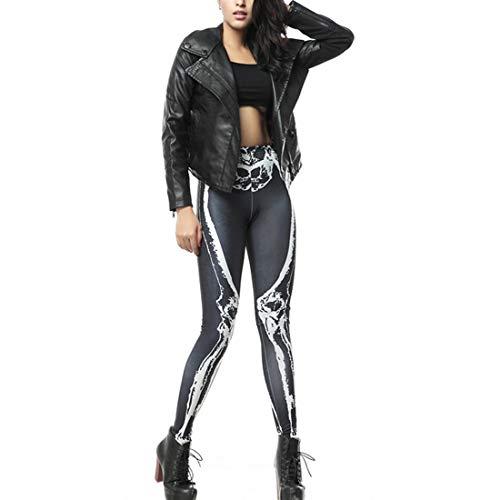 Imprimer Serrés Pantalon Inlefen Femmes Leggings Vêtements Simple Halloween Pour Yq7nFC