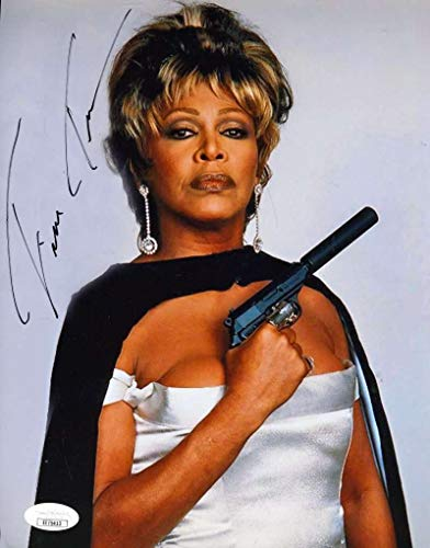 TINA TURNER JSA Coa Hand Signed 8x10 Photo Autograph