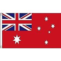 Australia Red Ensign Flag 3' x 5' - Australian Flags 90 x 150 cm - Banner 3x5 ft - AZ FLAG