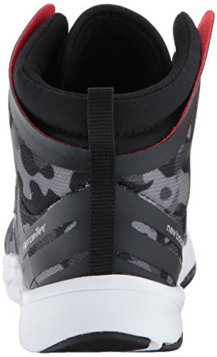 Nuovo Equilibrio Donne 811v2 Metà Cross-trainer-shoes Nero / Grafica Camo