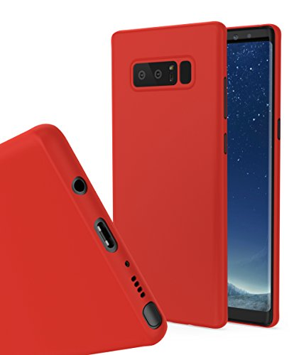wholesale dealer fa315 361bc Galaxy Note 8 MNML Thin Case (Red) - Buy Online in Oman ...