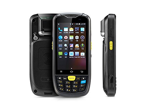 Rugged Android Warehouse Inventory Scanner Industrial Handheld Terminal, With 2D QR Zebra Bar Code Reader, Physical Keypad, Touch Screen, Bluetooth WiFi 3G 4G