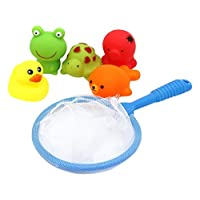 Floating Animal Bathtime Bath Toys Children Can Play Fishing While Bath Time ...