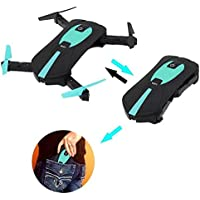 OOFAY Drone with Camera JY018 Folding Quadcopter Aerial Mini Drone Toy 2.4G Frequency Remote Control