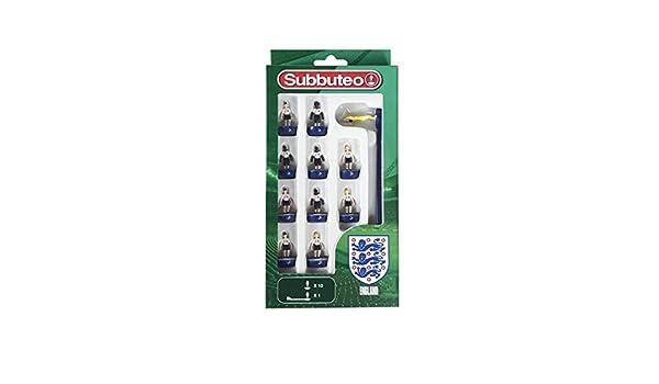 Subbuteo - Juego de Jugadores de Inglaterra, 3485: Amazon.es: Juguetes y juegos