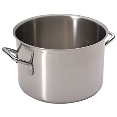 Sitram Catering 5.4-Quart Commercial Stainless Steel Braisier/Stewpot