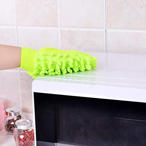 HGJVBFGH1 Relentless Drive Ultimate Car Wash Mitt Premium Chenille Microfiber Glove Random