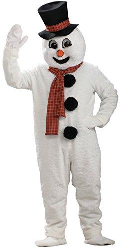 Christmas Mascots Costumes (Rubie's Snowman Mascot Costume, White, One Size)