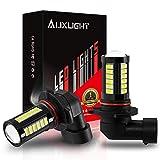 AUXLIGHT 9006 HB4 9006LL 9006XS LED Fog Light Bulbs 6000K Xenon White, Super Bright 2800 Lumens 33-SMD Chips LED Daytime Running Lights DRL Bulbs Replacement for Cars, Trucks (Pack of 2)