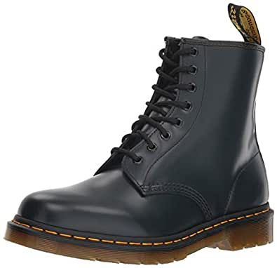 Dr. Martens 1460 8 Eye Boot Men's Fashion Boots, Navy, 7 US