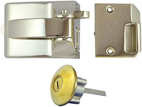 Ingersoll Rim Auto Deadlock Brass SC71-BLX
