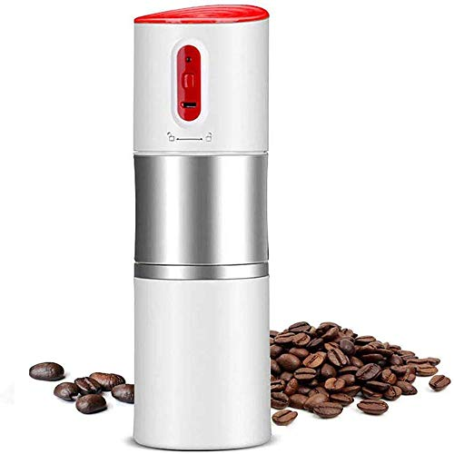 ROLL Portable Electric Espresso Maker, Espresso Option Easy Refill Water Tank, Mini Automatic Espresso Easy Travel Machine (Color : White)