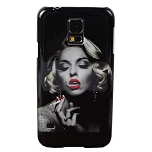 Marilyn Monroe Smoking Hard Back Cover Skin Protector Phone Case For Samsung Galaxy S5 S 5 SV i9600