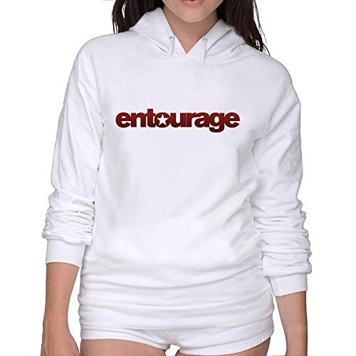 Lightweight 80's Juniors Woman Entourage Small Hoodie