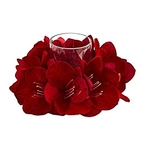 Artificial Flowers -Amaryllis Arrangement Candelabrum 18