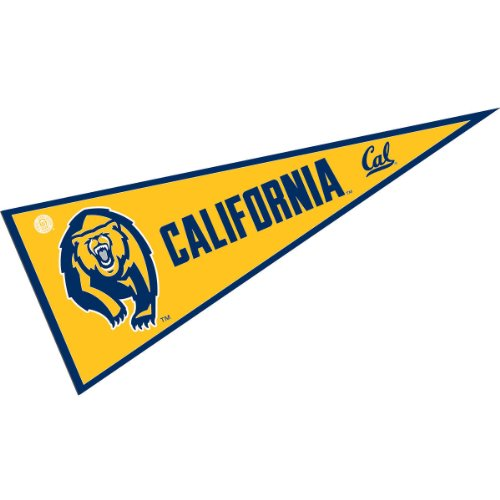 (College Flags and Banners Co. UC Berkeley Bears Pennant Full Size Felt)