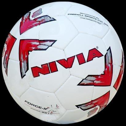 Nivia Force Futsal Football, Size 4  White