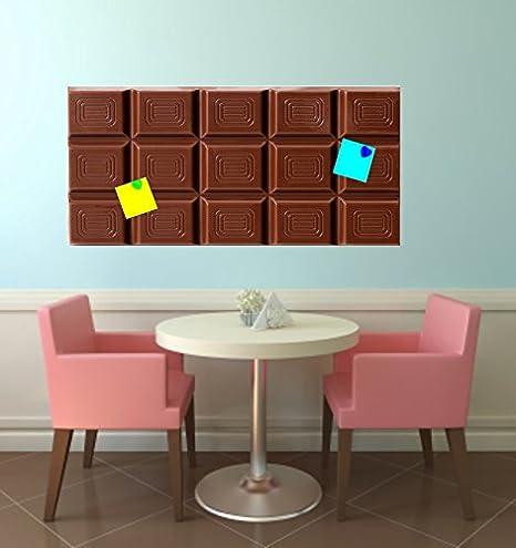 Pizarra magnética Pegatinas Chocolate apto para Ikea Marcha: Amazon.es