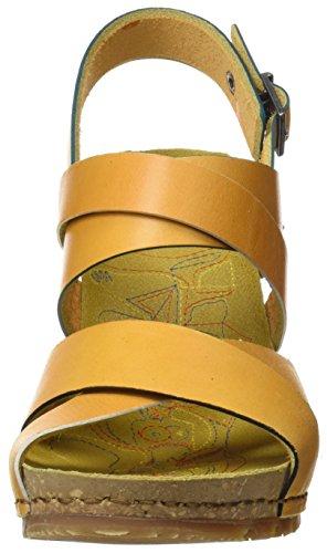 Women's Toe Open Sun Mojave 1331 Yellow Art Sandals Güell Sun 1qw4RAA