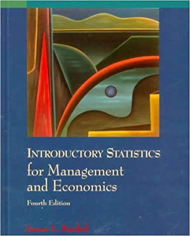 Introductory Statistics for Management and Economics