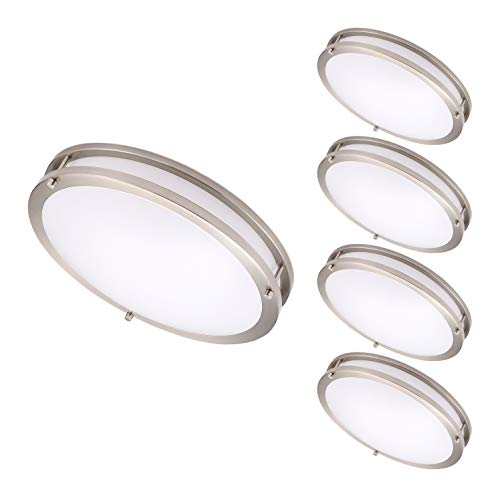 14 Inch White Ceiling Light - OSTWIN 14