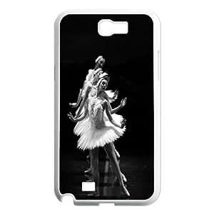 Yo-Lin case IKAI0446888Ballet And Swan For Samsung Galaxy Note 2 Case