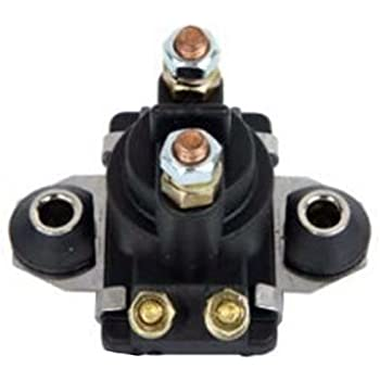 Compatible With Mercury MANY 40-50-65-75-50-80-100-105-115-125-135-150-175-200-225-250 Replaces 89-817109A1, 89-817109A2 89-817109A3 PREMIUM JetSki Plus Brand Outboard 12v Starter Solenoid Relay