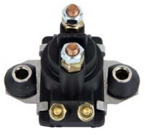 Mercury Marine Outboard Starter - Solenoid Relay Switch Replacement For Mercury Marine 12 Volts 4 Terminals 20HP 25HP 40HP 45HP 50HP 55HP 60HP 65HP 70HP 80HP 90HP 89-818997A1 65W-81941-00-00
