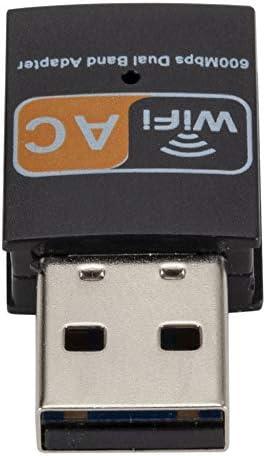 Triamisu Kebidu Adaptador inalámbrico USB WiFi 600mbps Antena ...