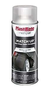 PlastiKote 1003 Universal Flat Black Automotive Touch-Up Paint - 11 oz.