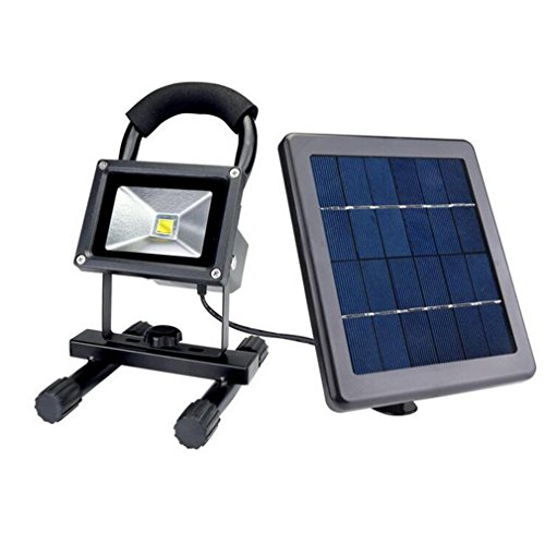 CARYY High Brightness LED Solar Light, Outdoor Waterproof Portable Lighting, Garden Lights, Emergency Floodlights , black by CARYY