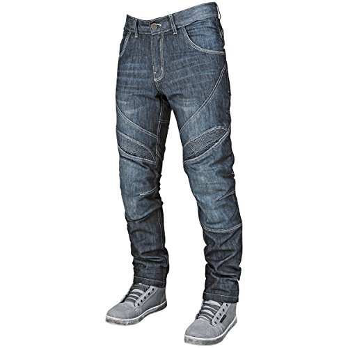 (Speed and Strength Rust and Redemption Men's Denim Street Motorcyle Pants - Blue / Size 34X30 )