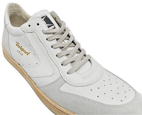 VALSPORT - Zapatillas de Piel para hombre blanco Bianco 40