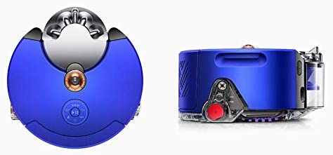 Dyson 360 Heurist aspiradora Robot (níquel Azul), aprende y se ...