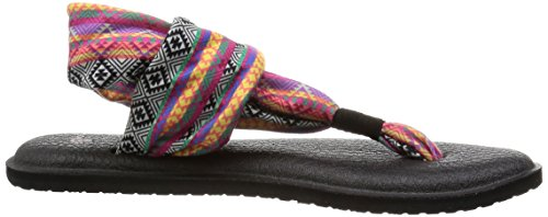Mmts Infradito 2 Donna Yoga Stripes Multicolore Prints Tribal magenta multi Sanuk Sling IxRP4Ew