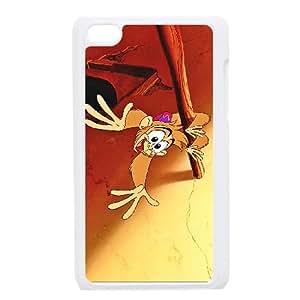 iPod Touch 4 Case White Aladdin Character Abu 007 SH3109213