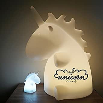 Lámpara gigante unicornio blanca – Uni The Unicorn – smoko Inc