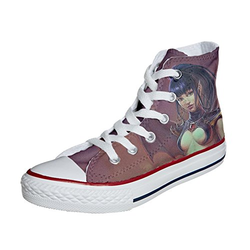 Converse All Star zapatos personalizados (Producto Handmade) Guerriera Sex