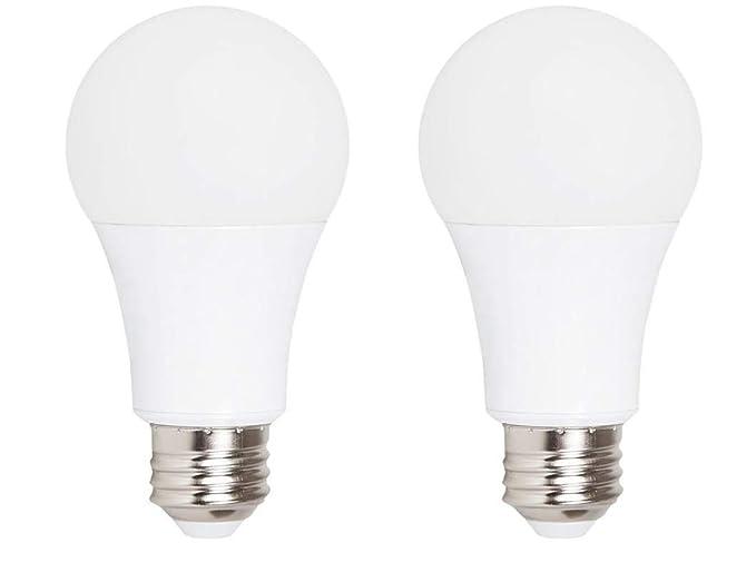 Amazon.com: Luz de emergencia LED de dos cabezales con ...