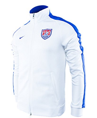 Nike N98 USA Authentic Men Track Jacket WhiteGame Royal 589862 100 SIZE XL