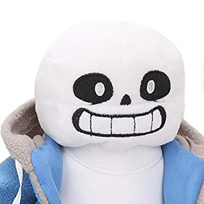 Sans puppet plush doll cosplay doll gift: Office Products