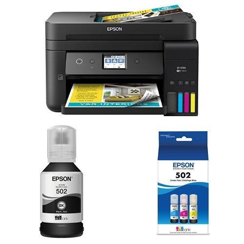Epson WorkForce ET-4750 EcoTank Wireless Color Printer with